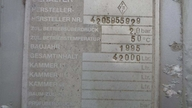 FELDBINDER EUT 42.3 - SILOCISTERNA - 4 komory