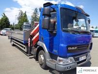 DAF FA LF 45.220 G12 EURO 5/EEV + HYDRAULICKÁ RUKA PALFINGER PK 9001