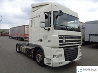DAF FT XF 105.460 SC LOW DECK EURO 5/EEV - nový motor !
