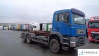 MAN TGA 33.350 6x4 BB Hákový nosič kontejnerů