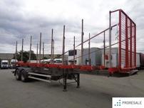 RIEDLER - návěs pro přepravu dřeva