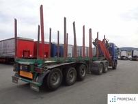 LEMEX NTZ 33 pro přepravu dřeva - prodejné jen s tahačem S0310Z - cena je za celou soupravu