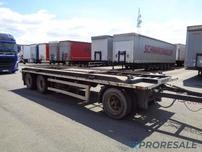 BURG BPDA 10 18 pro přepravu kontejnerů - prodejné jen s vozidlem DAF D1277W - cena je za celou soupravu