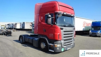 SCANIA R 420 LA 4X2 TOP LINE LOW DECK E4