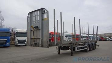 TRAILIS ZASLAW D-651A - klanicový návěs pro přepravu dřeva