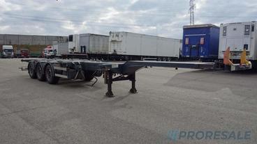 D-TEC FT 43-03 V FLEXILOCK kontejnerový návěs 20 - 45