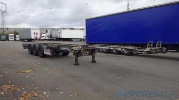 SCHMITZ CARGOBULL SCF 24 - kontejnerový návěs 20 -45