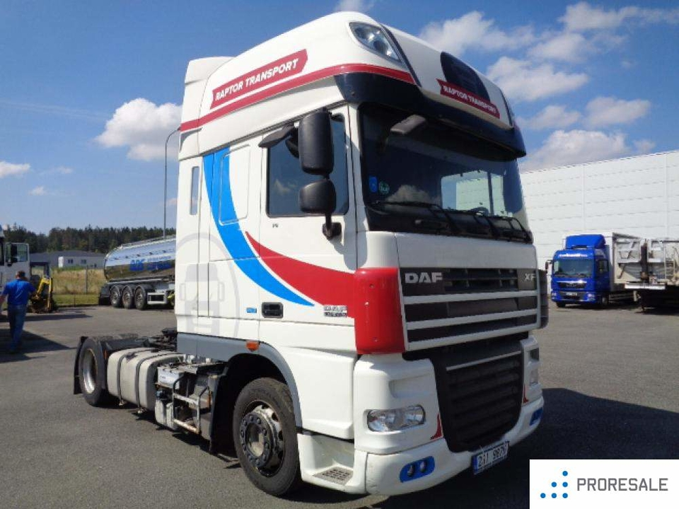 DAF FT XF 105 460 SC LOW DECK EURO 5/EEV | proresale